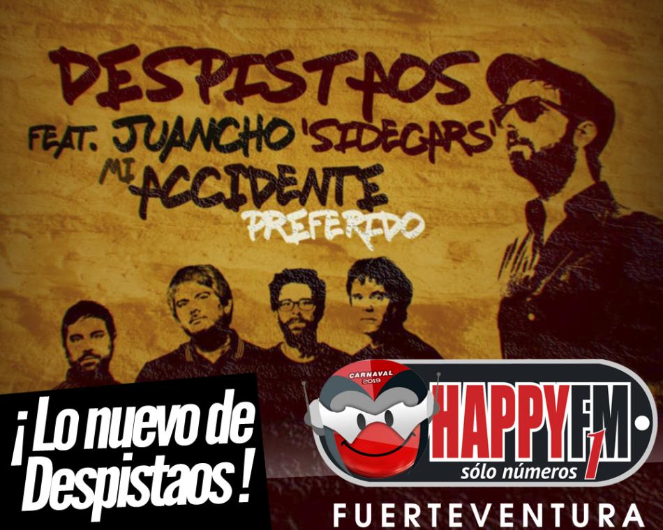 """Despistaos publican """"Mi Accidente Preferido"""" junto a Juancho (Sidecars)"""
