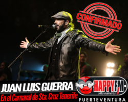 ¡CONFIRMADO! Juan Luís Guerra estará en el Carnaval de Santa Cruz de Tenerife