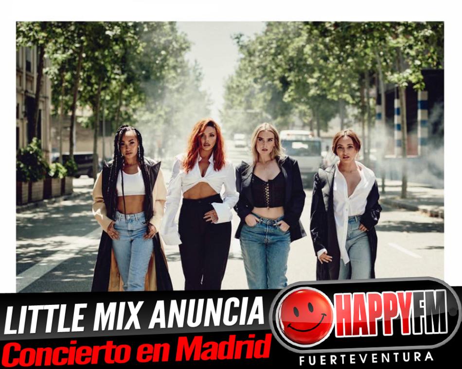 Little Mix anuncia un único concierto en Madrid