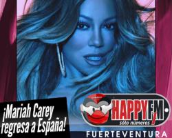 Mariah Carey anuncia un nuevo y único concierto en nuestro país en Junio