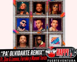 "Chocquibtown publica ""Pa' Olvidarte Remix"" junto a Zion & Lennox, Farruko y Manuel Turizo"