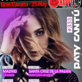 Paty Cantú de concierto en Gran Canaria