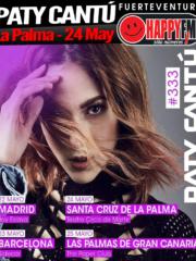 Paty Cantú de concierto en La Palma