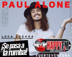 Paul Alone estrena el tema 'Loca Locura' y anuncia nuevas fechas de conciertos