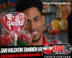 San Valentín también para en la Estación de Servicio Cepsa KM 13…porque lo merece