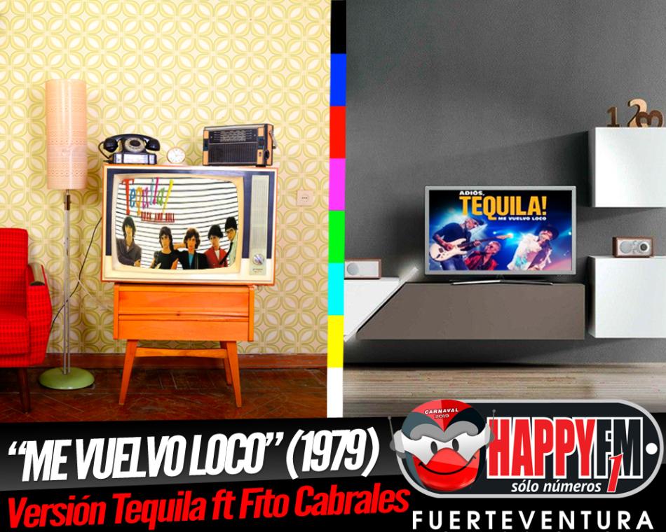 """Tequila publica el tema """"Me Vuelvo Loco"""" en directo junto a Fito Cabrales"""