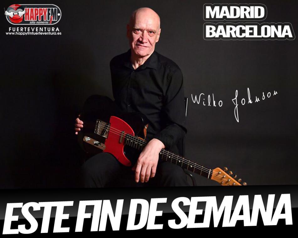 Wilko Johnson estará este fin de semana de concierto en Madrid y Barcelona