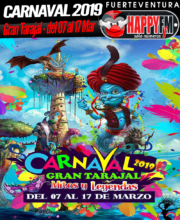 Programa del Carnaval 2019 en Tuineje