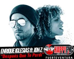 """Enrique Iglesias regresa acompañando a Jon Z en la reedición del tema """"Después Que Te Perdí"""""""