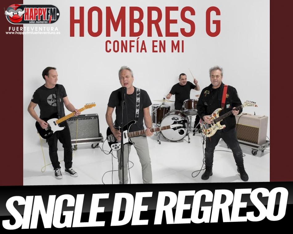 """""""Confía En Mi"""" es el single de regreso de Hombres G"""