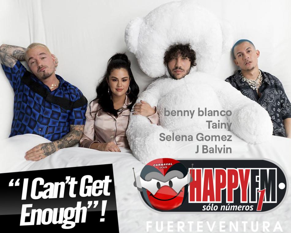"""""""I Can't Get Enough"""" es la colaboración entre Selena Gómez, Benny Blanco, J Balvin y Tainy"""