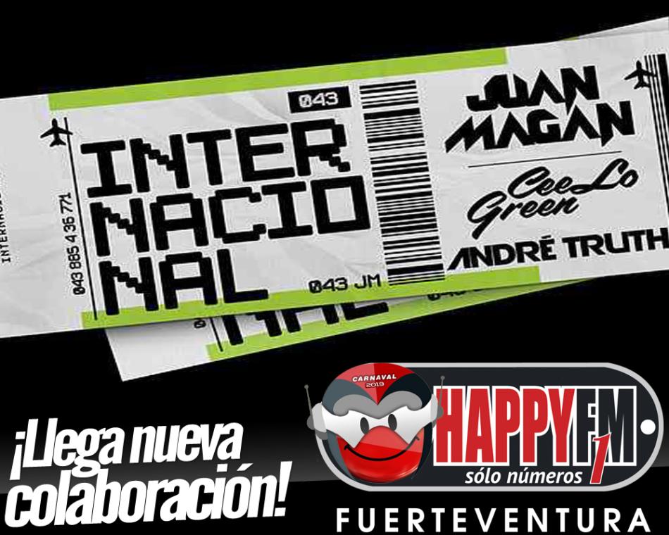 """Llega la colaboración más  """"Internacional"""" con Juan Magán, Cee Lo Green y Andre Truth"""