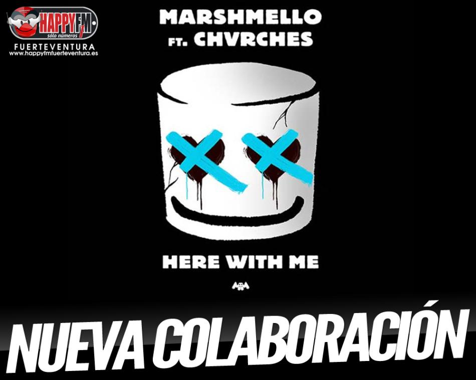 """Here With Me"" es lo nuevo de Marshmello y Chvrches"