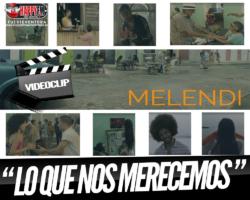 """¿Has visto el videoclip de Melendi de su nuevo tema """"Lo Que Nos Merecemos"""""""
