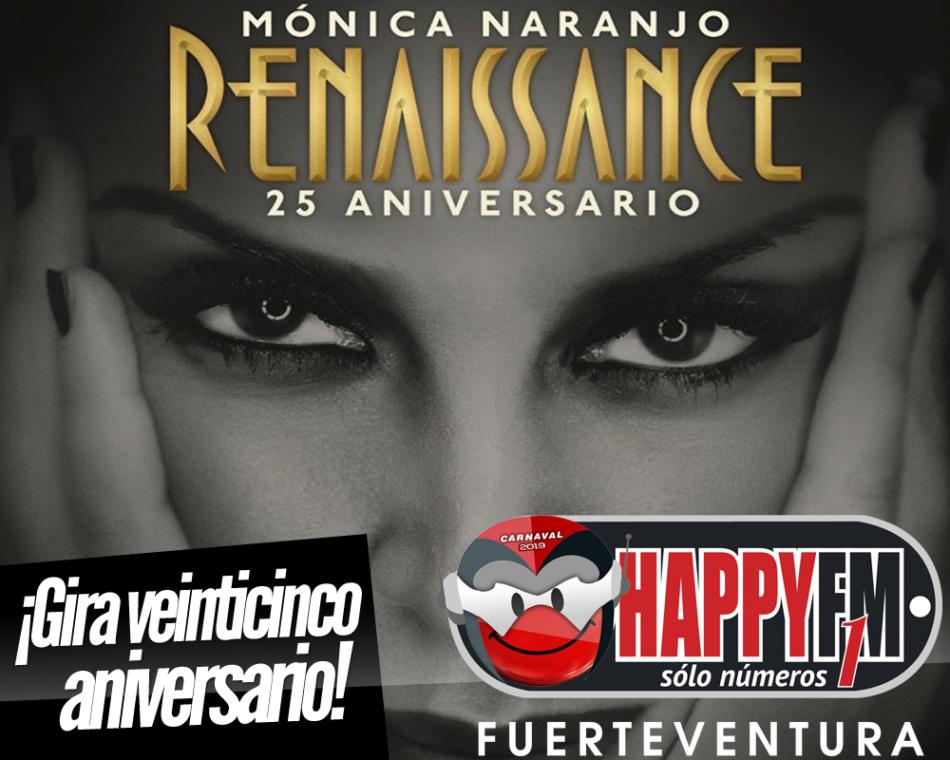 Mónica Naranjo anuncia gira veinticinco aniversario