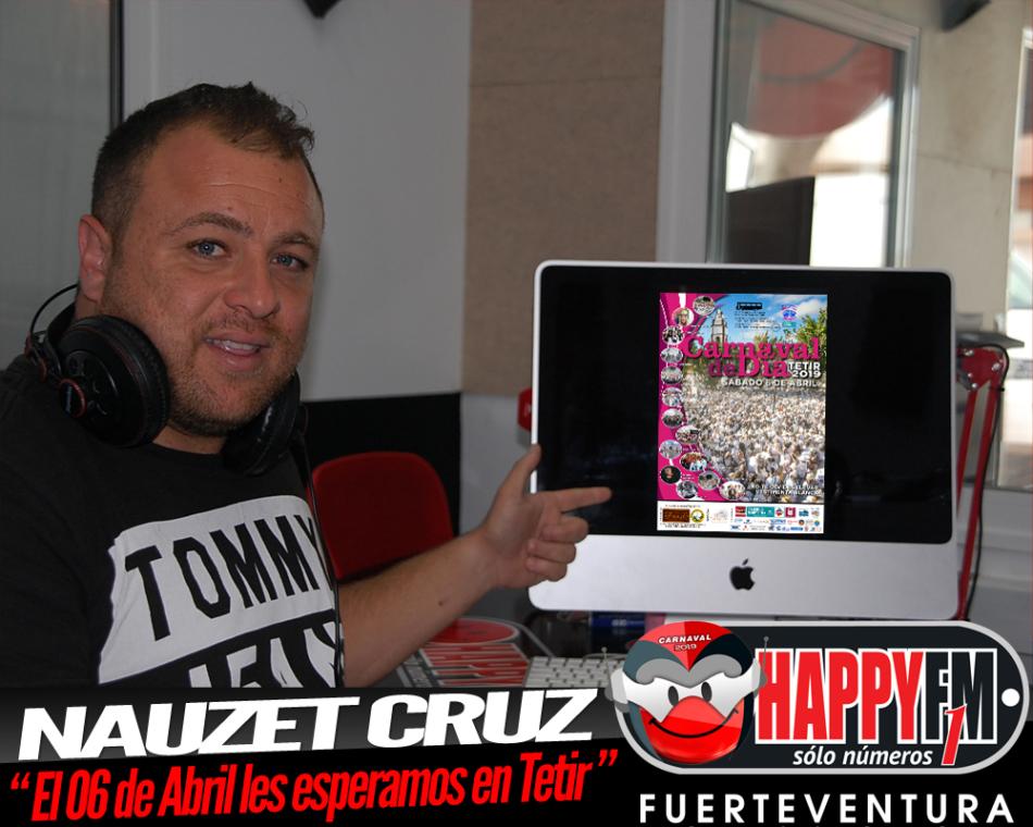 Nauzet Cruz nos cuenta los últimos detalles del  Carnaval de Día de Tetir 2019