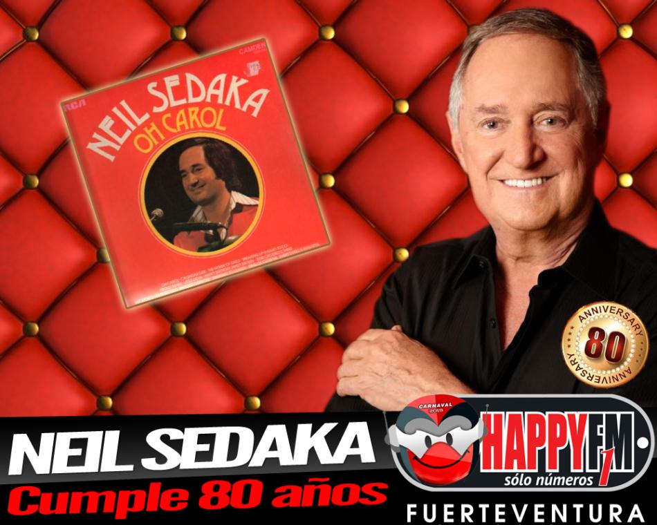 "Neil Sedaka, autor de éxitos como ""Oh Carol"" cumple 80 años"
