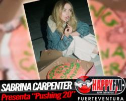 """Sabrina Carpenter presenta """"Pushing 20"""""""