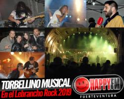 Torbellino musical en la primera jornada del Lebrancho Rock 2019