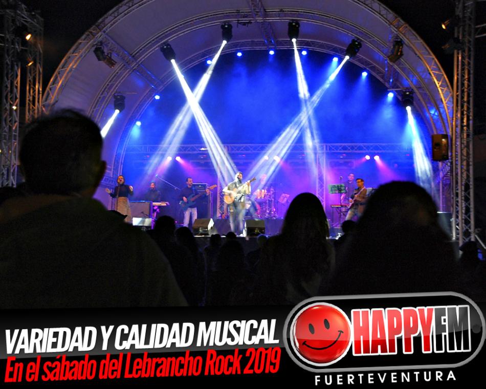 Calidad y variedad en el sábado del Lebrancho Rock 2019