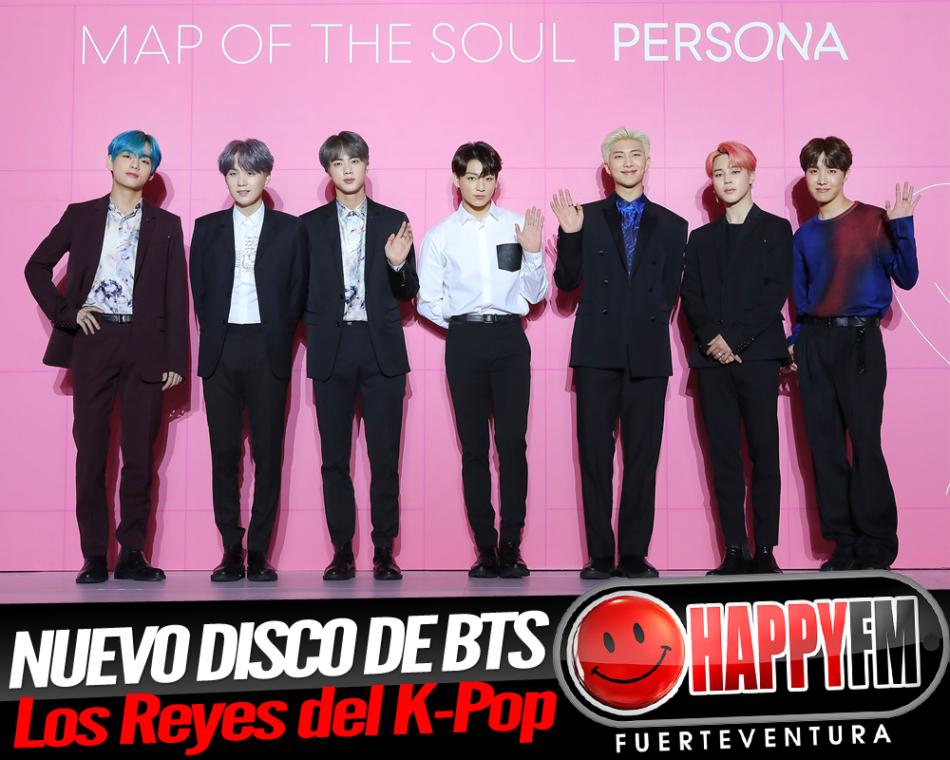 """BTS, los reyes del K-Pop publican su disco """"Map Of The Soul: Persona"""""""