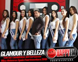 Glamour y belleza en nuestros estudios con las candidatas de Miss Universe Spain Fuerteventura 2019