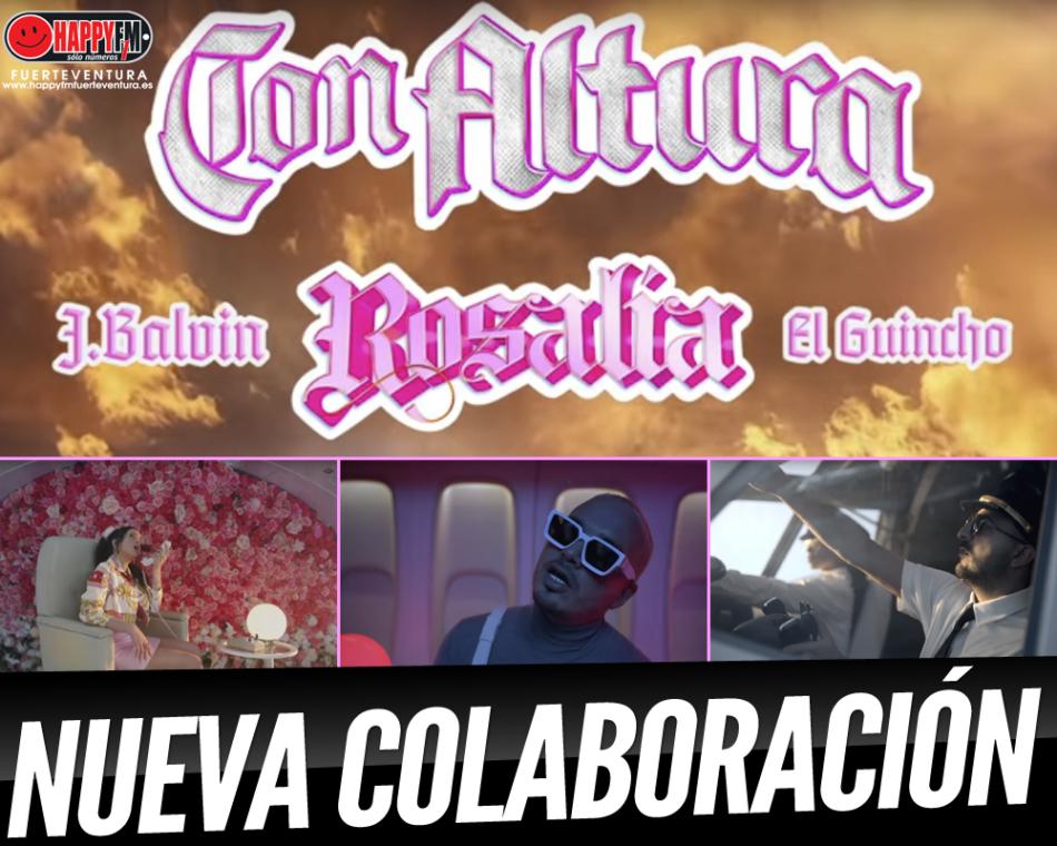 """""""Con Altura"""" es lo nuevo de Rosalía, J Balvin y El Guincho"""