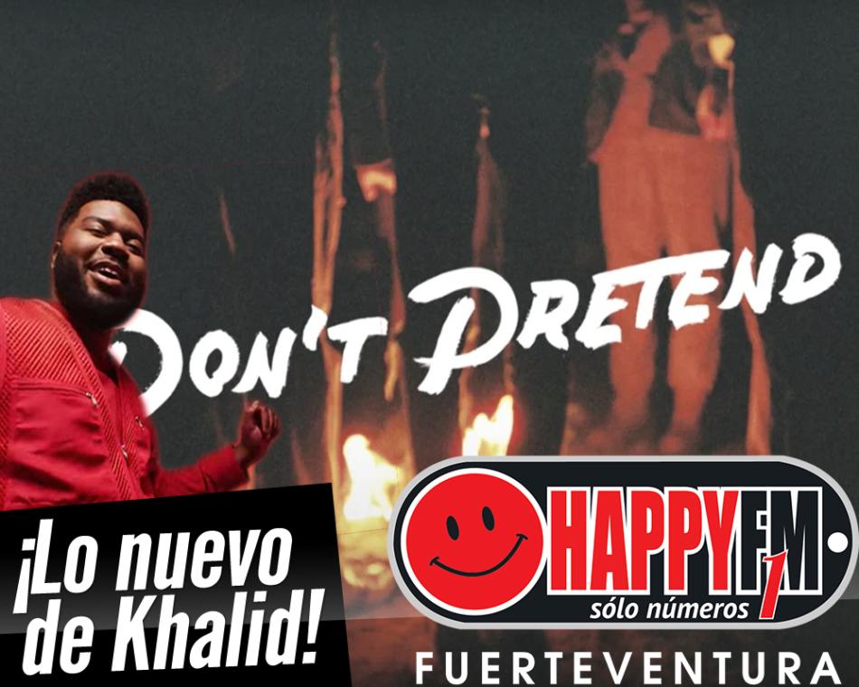 """Ya puedes escuchar """"Don't Pretend"""", el nuevo sencillo de Khalid"""