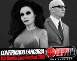 Fangoria estará en el Isla Bonita Love Festival 2019