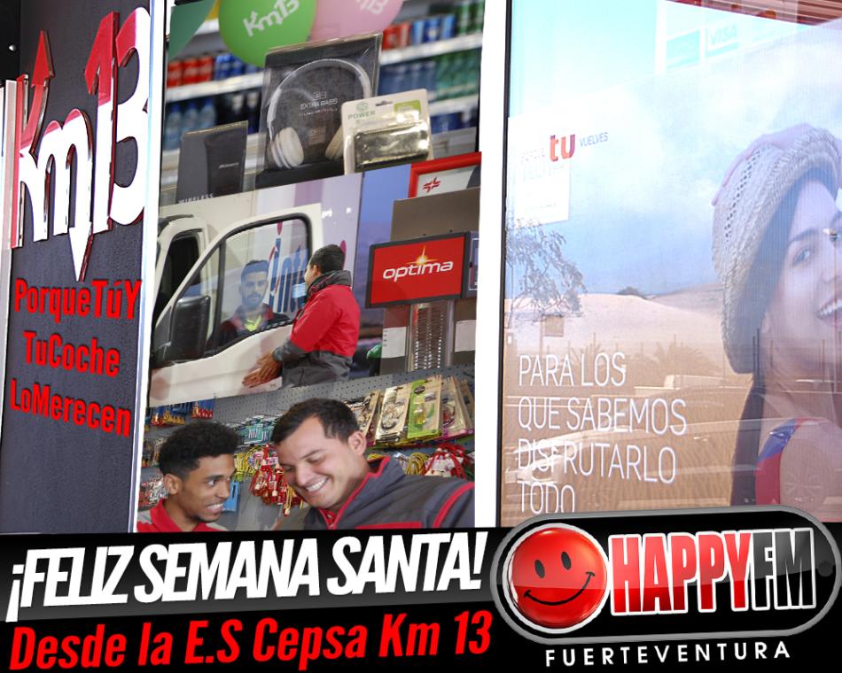 ¡Les deseamos una feliz Semana Santa desde la Estación de Servicio Cepsa Km 13!
