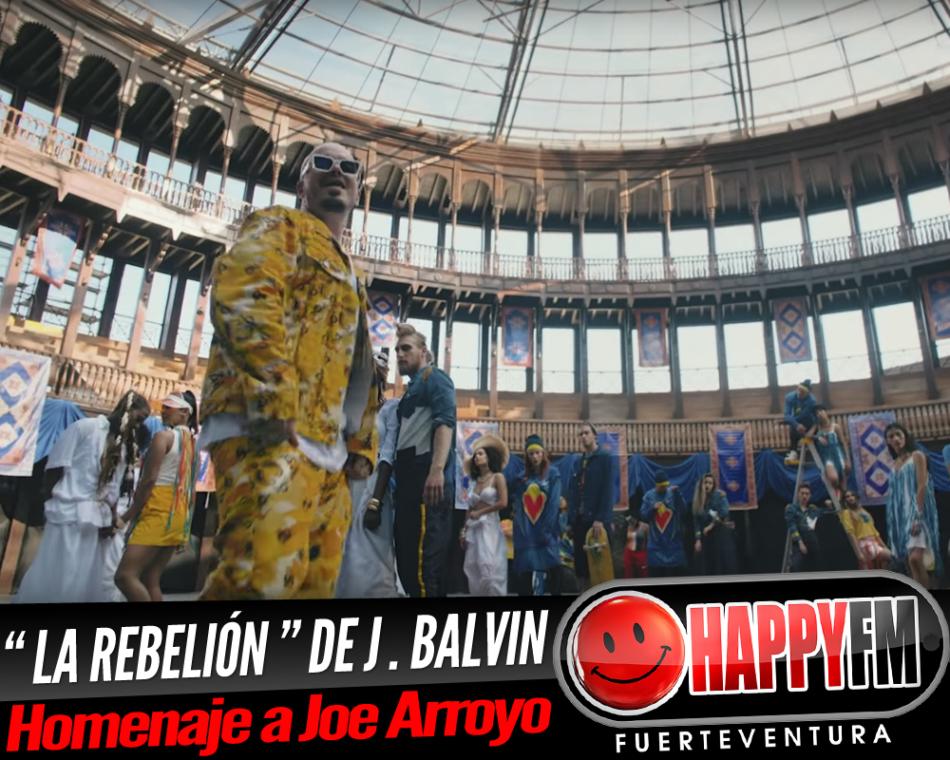 """¡J. Balvin imparable! ahora estrena """"La Rebelión"""""""