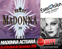 Madonna actuará en el Festival de Eurovisión 2019