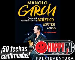 Manolo García arranca su gira en acústico