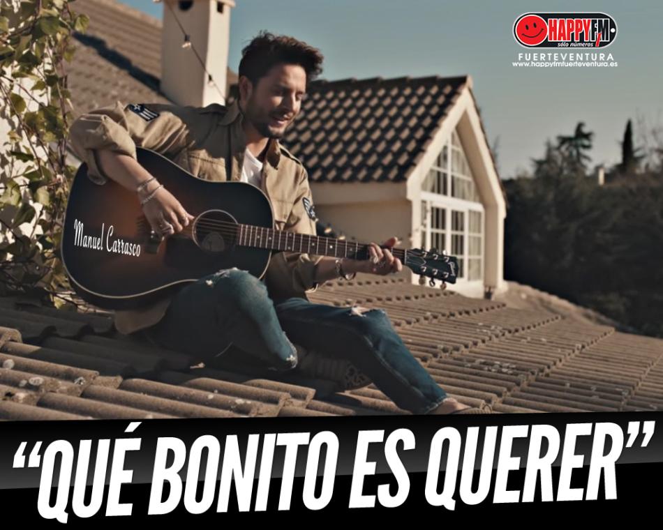 """Manuel Carrasco presenta """"Qué Bonito Es Querer"""" como nuevo single oficial"""