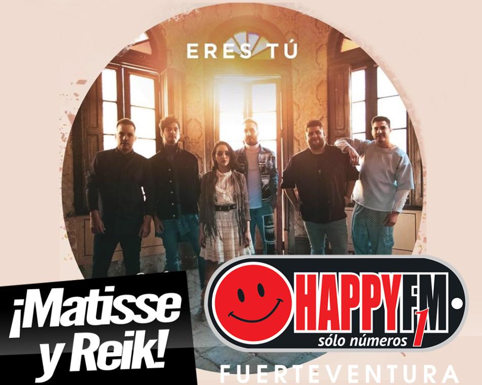 """Reik colabora en el nuevo single de Matisse: """"Eres Tú"""""""