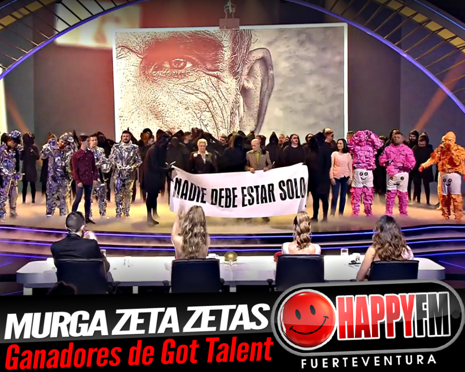 La Murga Zeta Zetas arrasan en la final de Got Talent