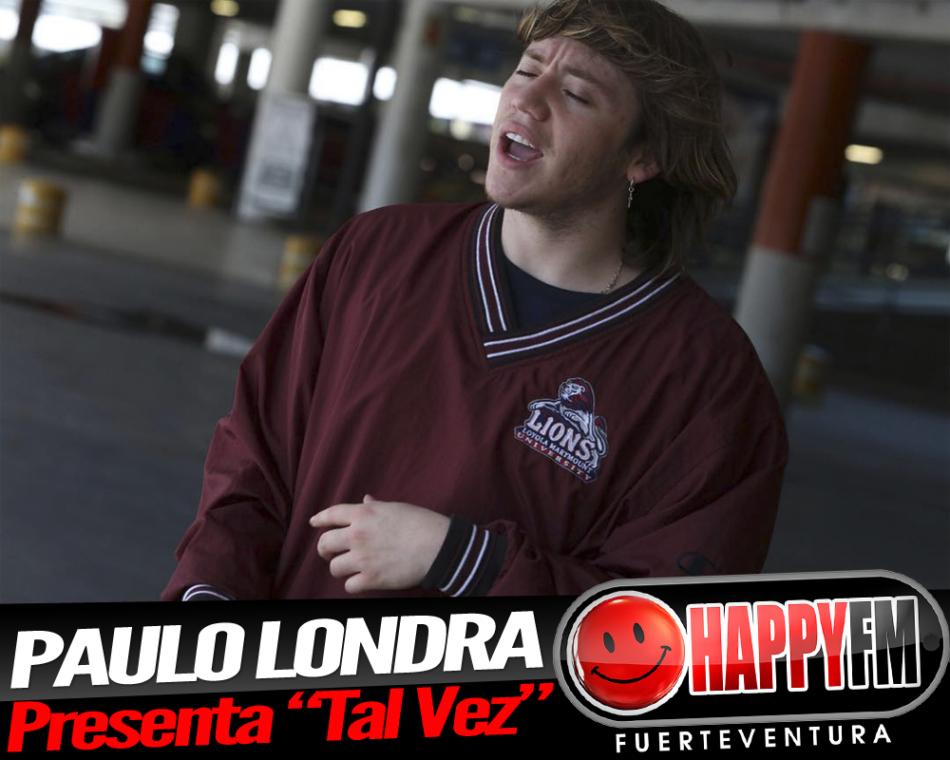 «Tal Vez» es el nuevo single de Paulo Londra