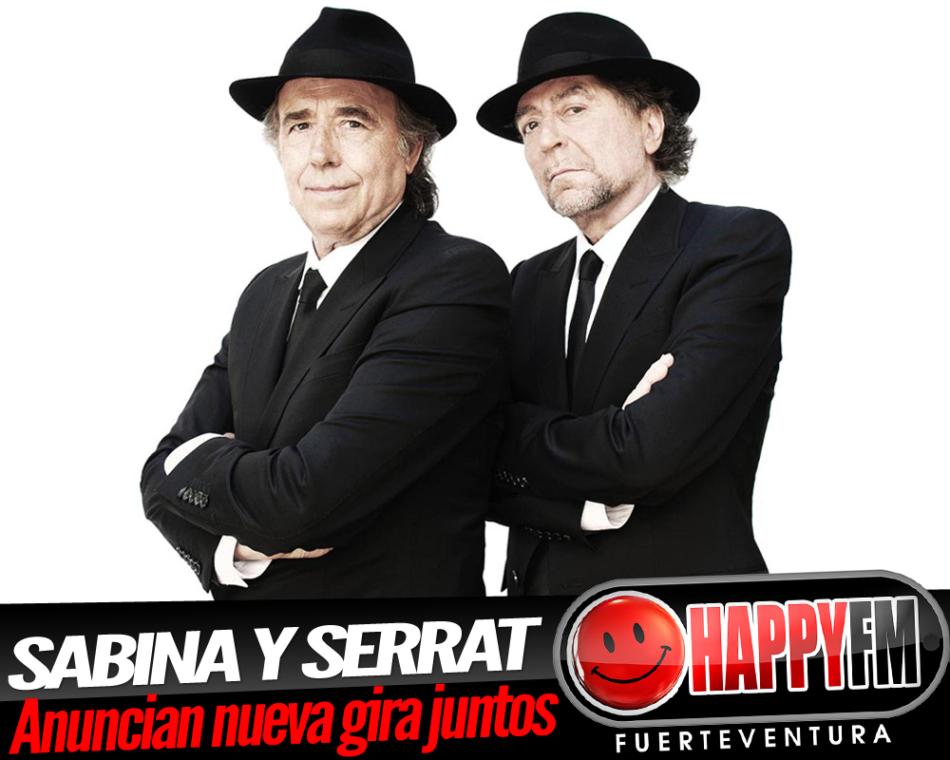 Joaquín Sabina y Joan Manuel Serrat anuncian nueva gira conjunta
