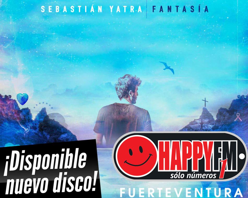 """Ya está disponible """"Fantasía"""", el nuevo disco de Sebastian Yatra"""