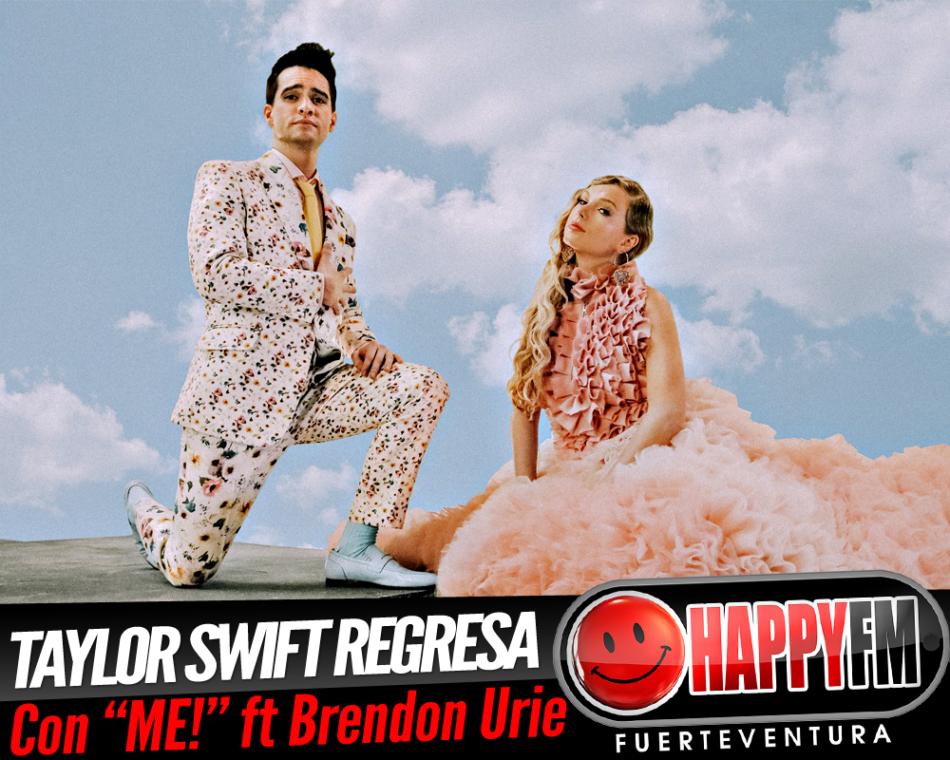"""Taylor Swift estrena el tema """"ME!"""" con la colaboración de Brendon Urie"""