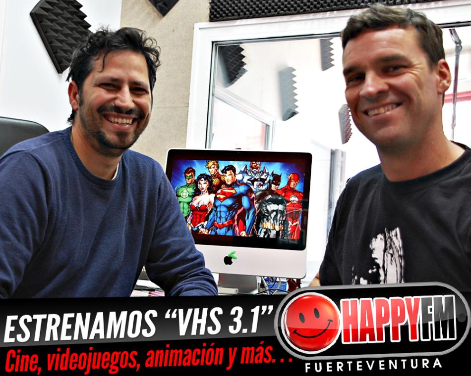 """Estrenamos """"VHS 3.1"""", el espacio para el cine, los videojuegos, la animación y mucho más de la mano de Tenesor Cruz"""