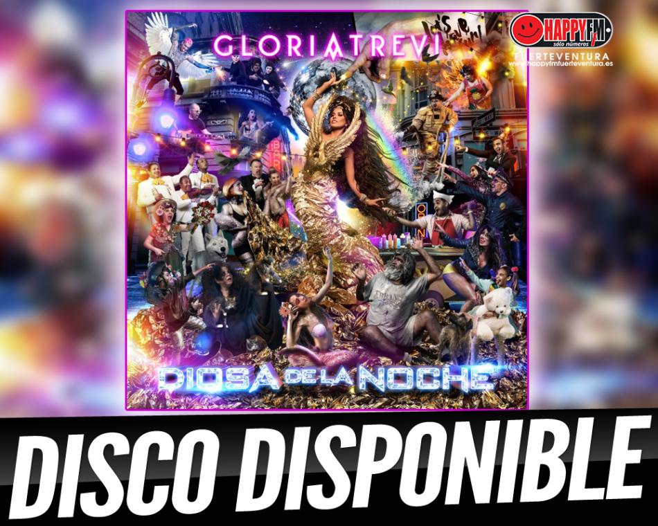 Gloria Trevi publica «Diosa de la Noche», su nuevo trabajo discográfico