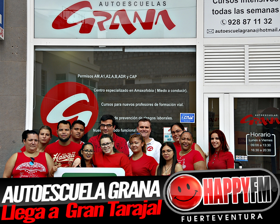 Autoescuela Grana abre sus puertas en Gran Tarajal