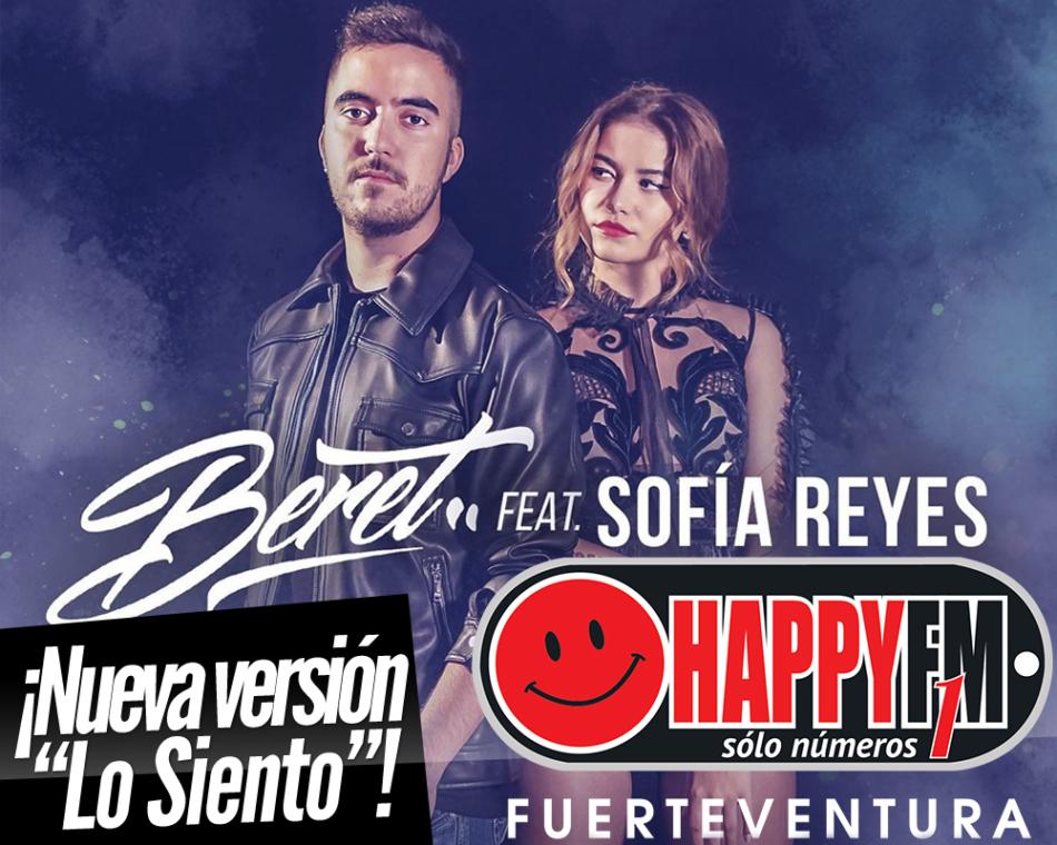 Beret estrena una nueva versión del tema «Lo Siento» junto a Sofía Reyes