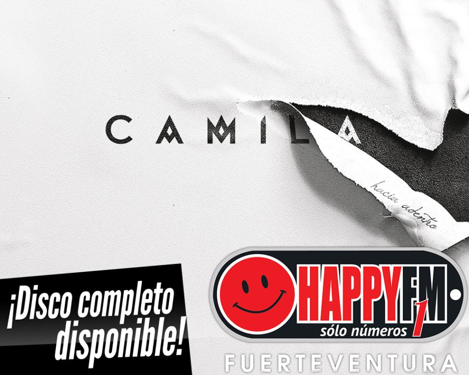 Ya está disponible «Hacia Adentro», el nuevo disco de Camila