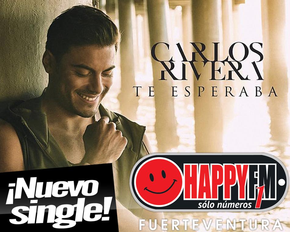 Carlos Rivera estrena por sorpresa «Te Esperaba»