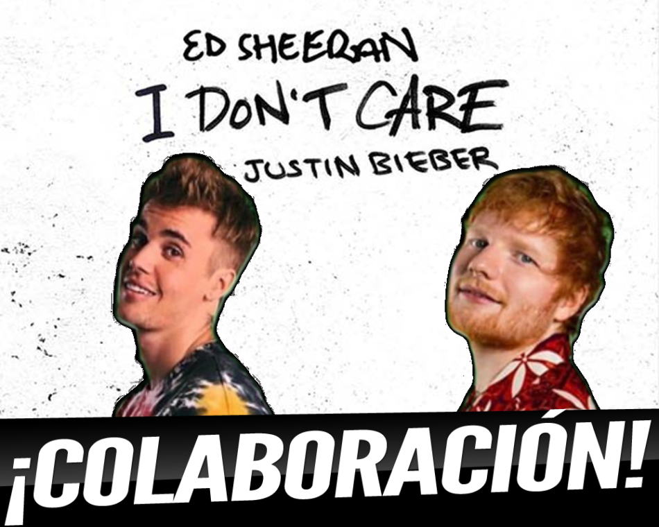 "Ed Sheeran y Justin Bieber publican el single ""I Don´t Care"""