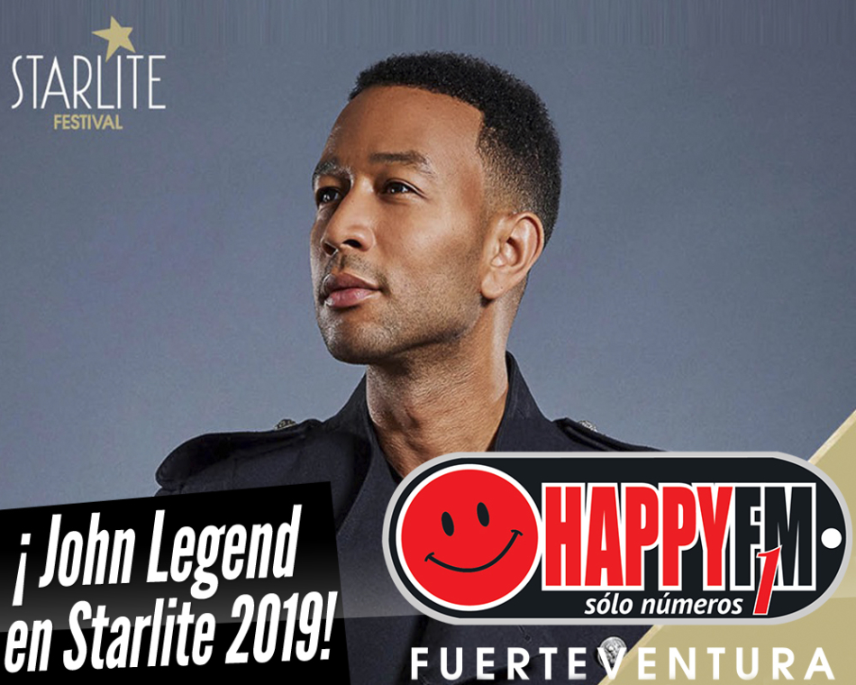 Starlite 2019 confirma la presencia de John Legend
