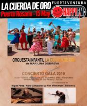 """Concierto """"La Cuerda de Oro"""", la Orquesta Infantil de Marilina Dobreva"""