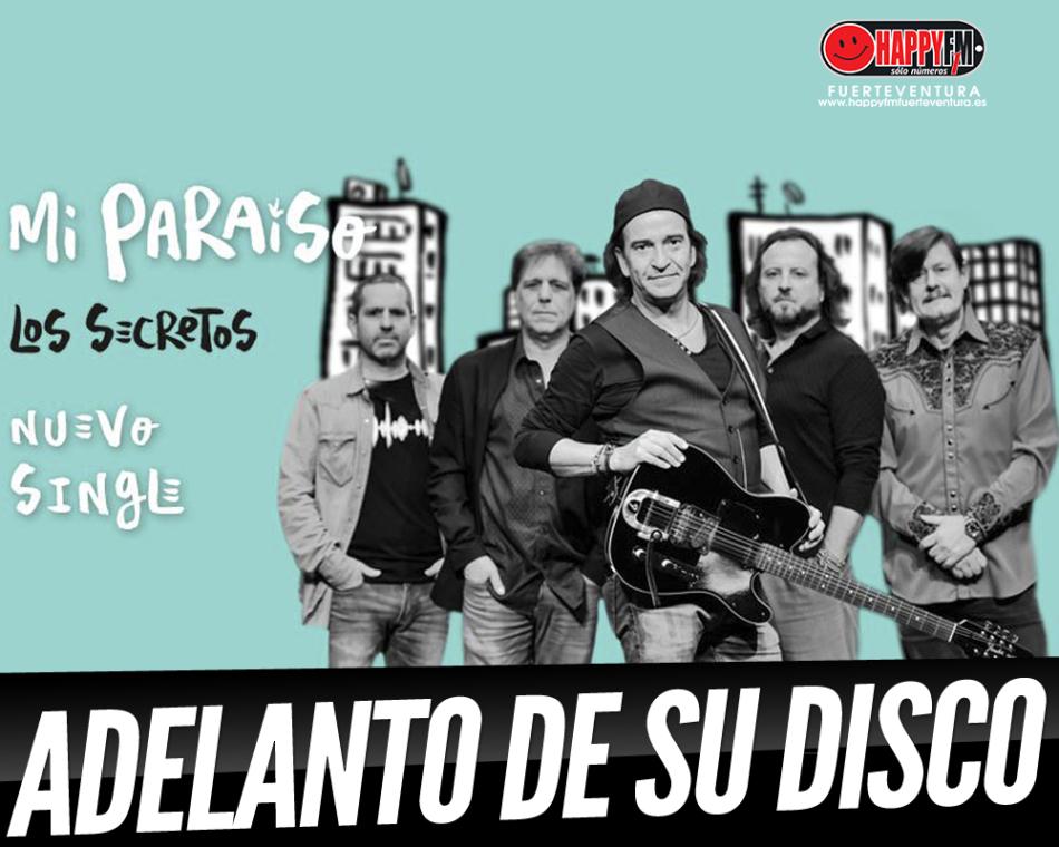 Los Secretos publican «Mi Paraíso», primer adelanto de su próximo disco de estudio